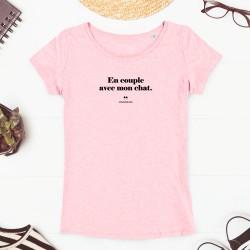 T-Shirt Femme - En couple...