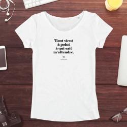 T-Shirt Homme - Tout vient...