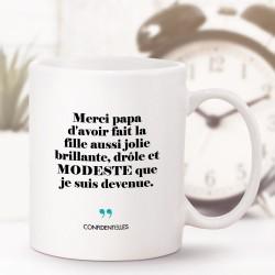 Mug - Merci papa d'avoir...