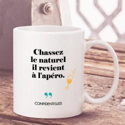 Mug - Chassez le naturel il...